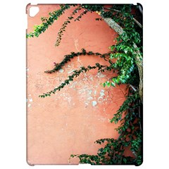Background Stone Wall Pink Tree Apple iPad Pro 12.9   Hardshell Case