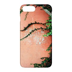 Background Stone Wall Pink Tree Apple iPhone 7 Plus Hardshell Case