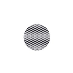Diamond Black White Shape Abstract 1  Mini Buttons