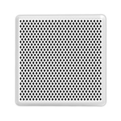 Diamond Black White Shape Abstract Memory Card Reader (Square)