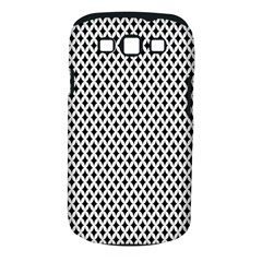 Diamond Black White Shape Abstract Samsung Galaxy S III Classic Hardshell Case (PC+Silicone)