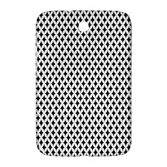 Diamond Black White Shape Abstract Samsung Galaxy Note 8.0 N5100 Hardshell Case