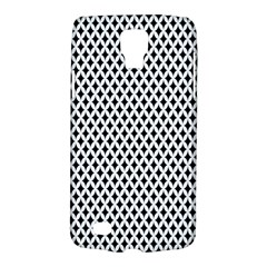 Diamond Black White Shape Abstract Galaxy S4 Active