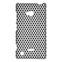 Diamond Black White Shape Abstract Nokia Lumia 720