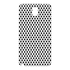 Diamond Black White Shape Abstract Samsung Galaxy Note 3 N9005 Hardshell Back Case