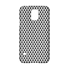 Diamond Black White Shape Abstract Samsung Galaxy S5 Hardshell Case