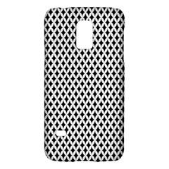 Diamond Black White Shape Abstract Galaxy S5 Mini