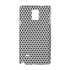 Diamond Black White Shape Abstract Samsung Galaxy Note 4 Hardshell Case
