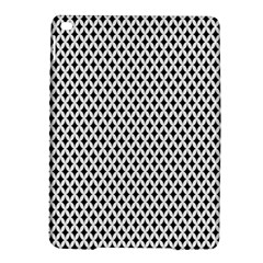 Diamond Black White Shape Abstract iPad Air 2 Hardshell Cases