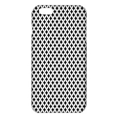 Diamond Black White Shape Abstract iPhone 6 Plus/6S Plus TPU Case