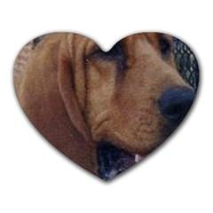 Bloodhound  Heart Mousepads