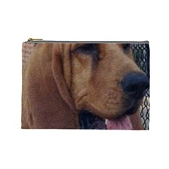 Bloodhound  Cosmetic Bag (Large)