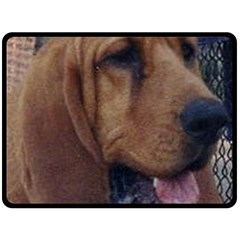 Bloodhound  Fleece Blanket (Large)