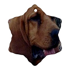 Bloodhound  Snowflake Ornament (2-Side)