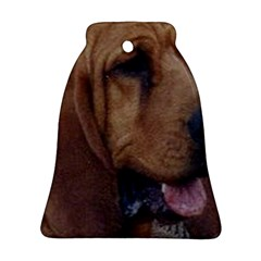 Bloodhound  Bell Ornament (2 Sides)