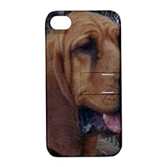 Bloodhound  Apple iPhone 4/4S Hardshell Case with Stand