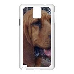 Bloodhound  Samsung Galaxy Note 3 N9005 Case (White)