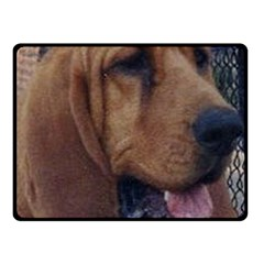 Bloodhound  Double Sided Fleece Blanket (Small)