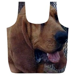 Bloodhound  Full Print Recycle Bags (L)