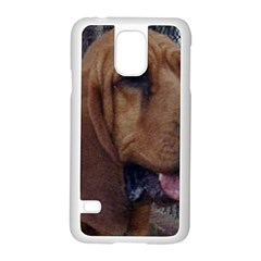 Bloodhound  Samsung Galaxy S5 Case (White)