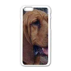Bloodhound  Apple iPhone 6/6S White Enamel Case