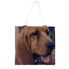 Bloodhound  Grocery Light Tote Bag