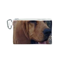 Bloodhound  Canvas Cosmetic Bag (S)