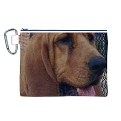 Bloodhound  Canvas Cosmetic Bag (L)