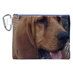 Bloodhound  Canvas Cosmetic Bag (XXL)
