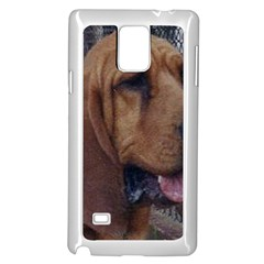 Bloodhound  Samsung Galaxy Note 4 Case (White)