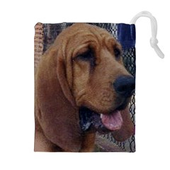 Bloodhound  Drawstring Pouches (Extra Large)