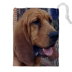 Bloodhound  Drawstring Pouches (XXL)