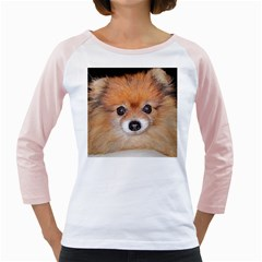 Pomeranian Girly Raglans
