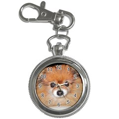 Pomeranian Key Chain Watches
