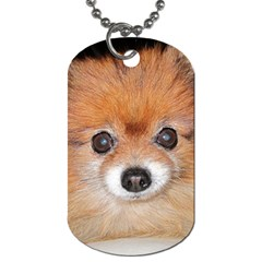 Pomeranian Dog Tag (One Side)
