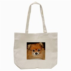 Pomeranian Tote Bag (Cream)