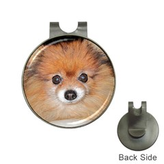 Pomeranian Hat Clips with Golf Markers
