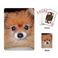 Pomeranian Playing Card