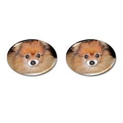 Pomeranian Cufflinks (Oval)