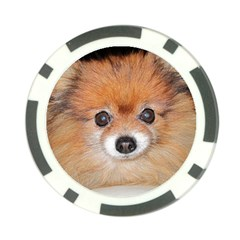 Pomeranian Poker Chip Card Guards (10 pack)