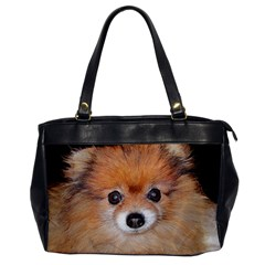 Pomeranian Office Handbags