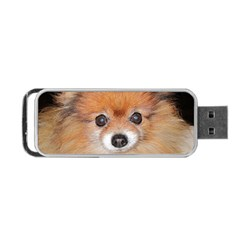 Pomeranian Portable USB Flash (Two Sides)