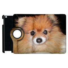 Pomeranian Apple iPad 3/4 Flip 360 Case