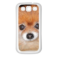 Pomeranian Samsung Galaxy S3 Back Case (White)