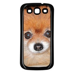 Pomeranian Samsung Galaxy S3 Back Case (Black)