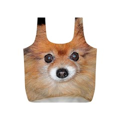Pomeranian Full Print Recycle Bags (S)
