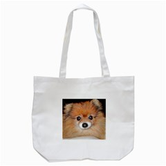 Pomeranian Tote Bag (White)