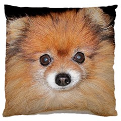 Pomeranian Standard Flano Cushion Case (Two Sides)