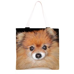 Pomeranian Grocery Light Tote Bag
