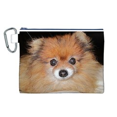 Pomeranian Canvas Cosmetic Bag (L)